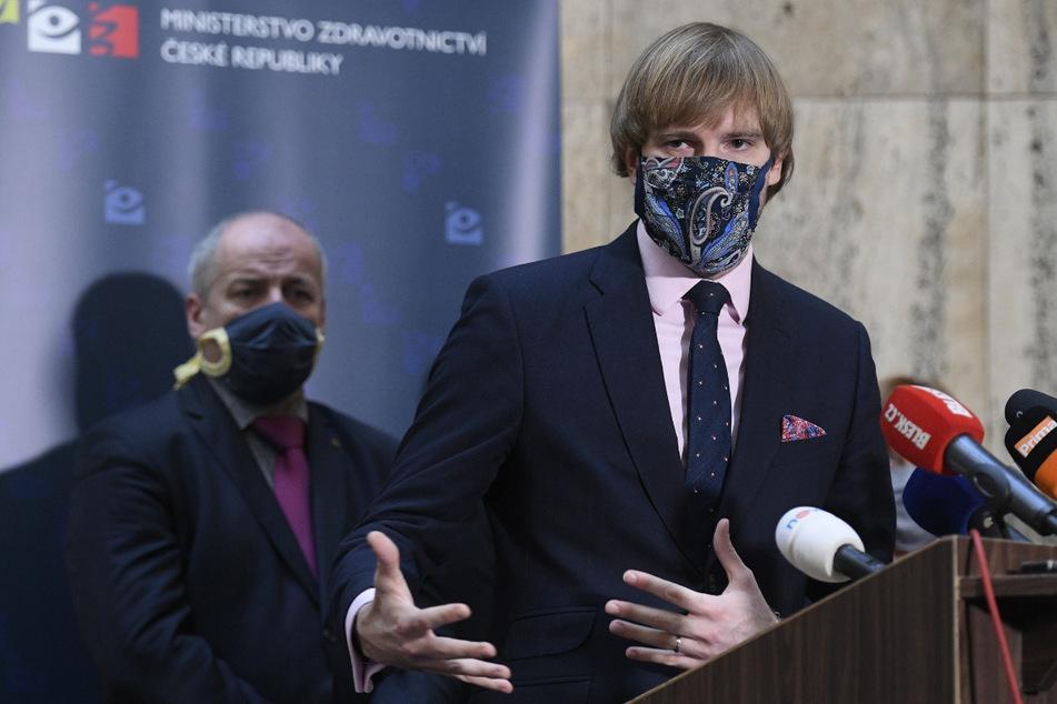 Gesundheitsminister Adam Vojtech (33) verkündete am Montag die kommende Grenzöffnung.