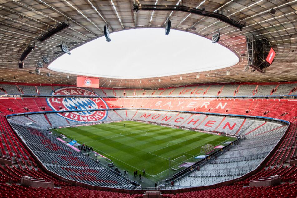 Zuschauer werden nicht in die Stadien strömen. Auch Fußball gespielt wird wie hier in der Allianz Arena nicht.