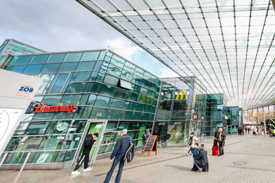 Hamburgs Zentraler Omnibusbahnhof hat beim ADAC eine gute Note bekommen.