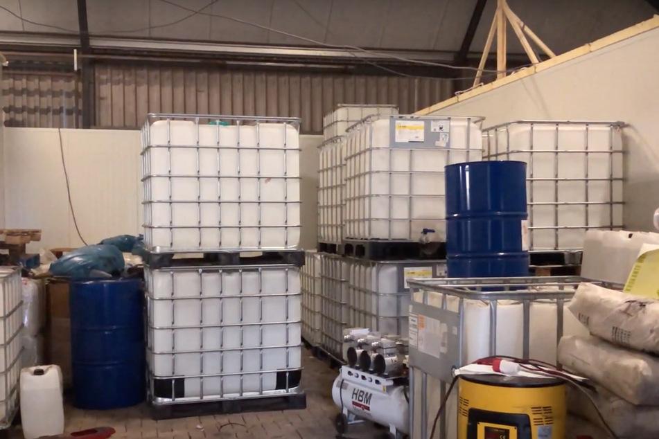 In dem Labor wurden bis zu 200 Kilogramm Kokain verarbeitet.