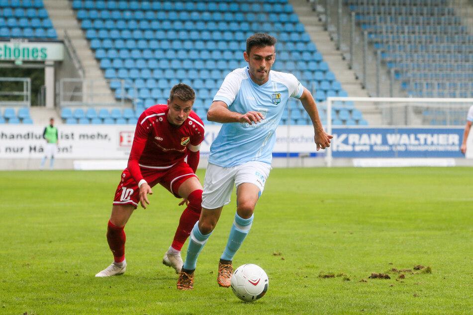 Gegen Germania Halberstadt stand CFC-Mittelfeldmann Ioannis Karsanidis erstmals wieder in einem Punktspiel für die Himmelblauen auf dem Platz. Jetzt folgte der erneute Rückschlag!