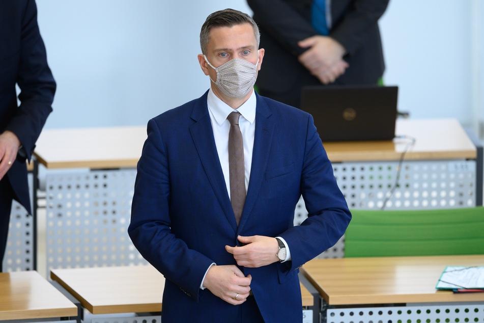 Sachsens Wirtschaftsminister Martin Dulig (47, SPD) sieht im Homeoffice eine Chance.