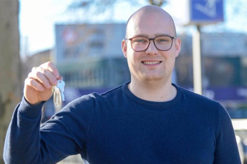 Start-up-Gründer Philip Schur will Kunden die Angst vor Abzocke nehmen und gleichzeitig den Schlüsseldiensten faire Konditionen bieten.