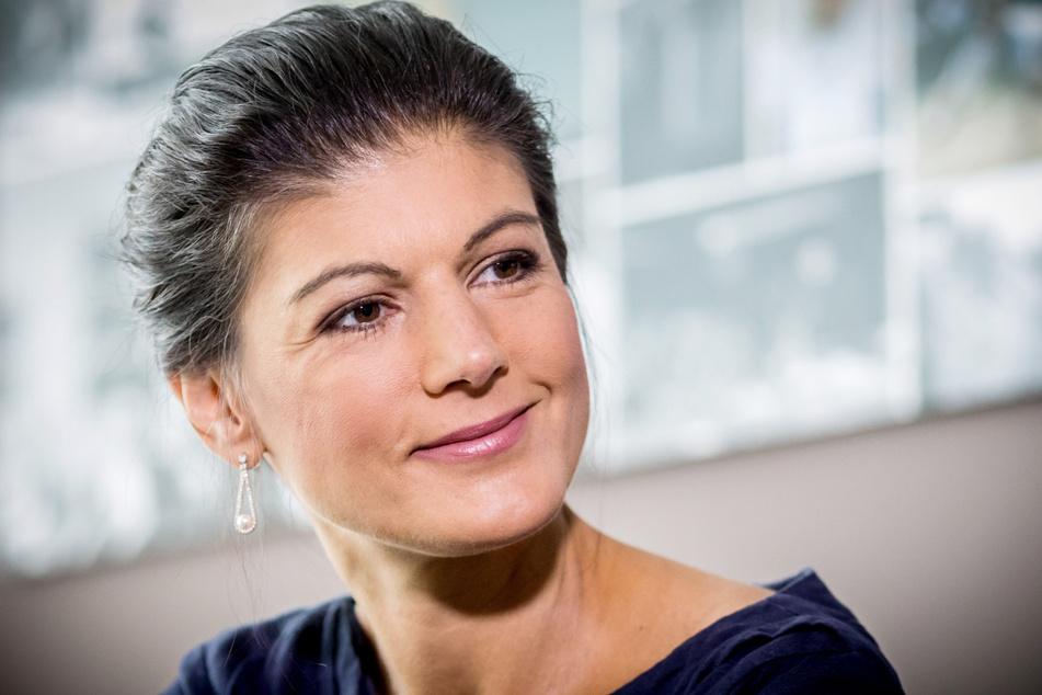 Derzeit viel gefragter Interview-Gast: Sahra Wagenknecht (51, Linke).