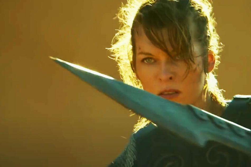 """Von der Konsole ins Kino: In """"Monster Hunter"""" kämpft Milla Jovovich gegen riesige Kreaturen"""