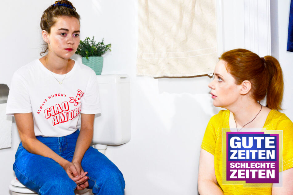 GZSZ: Nach Sex-Unfall bei GZSZ: Ist Merle etwa doch schwanger?
