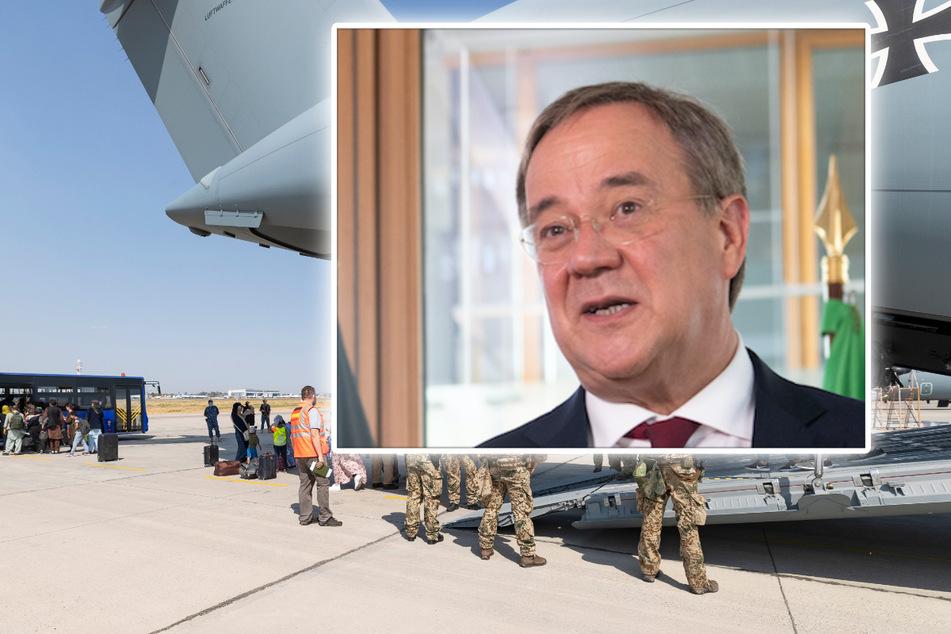 """Laschet nennt Ende der Rettungsflüge aus Afghanistan """"bittere Enttäuschung"""""""