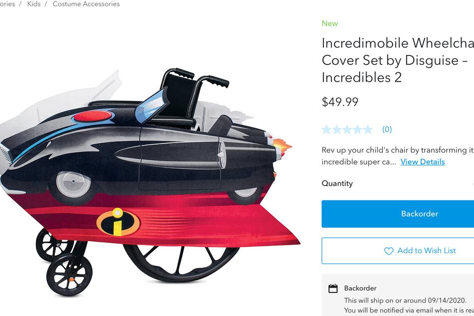 Das Incredimobile darf bei dem Kostüm natürlich auch nicht fehlen.