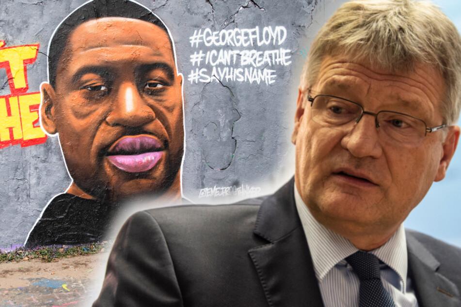 Nach Tod von George Floyd (†46): AfD-Meuthen beklagt Rassismus gegen Deutsche