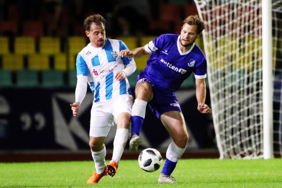 Benjamin Förster (r., 30) spielte zuletzt zwei Jahre für die VSG Altglienicke.
