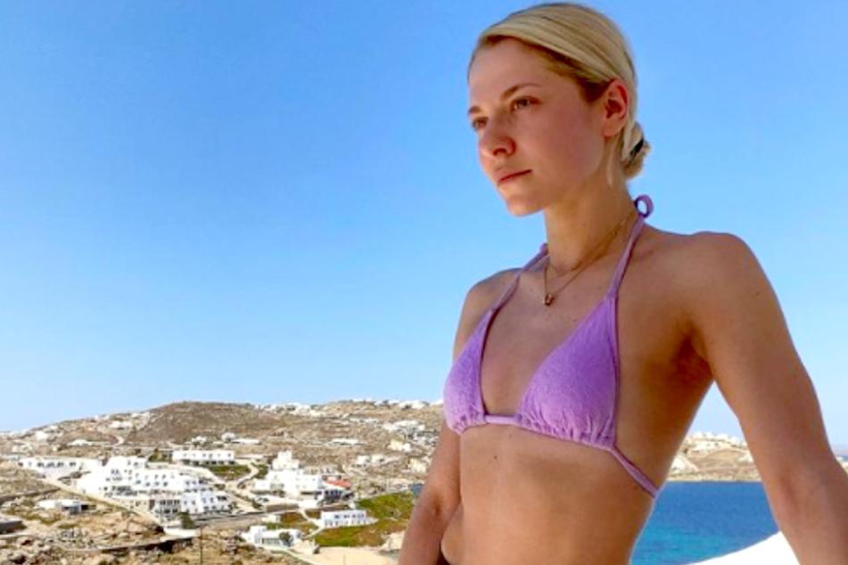 Valentina Pahde (26) genießt ihre Auszeit auf Mykonos.