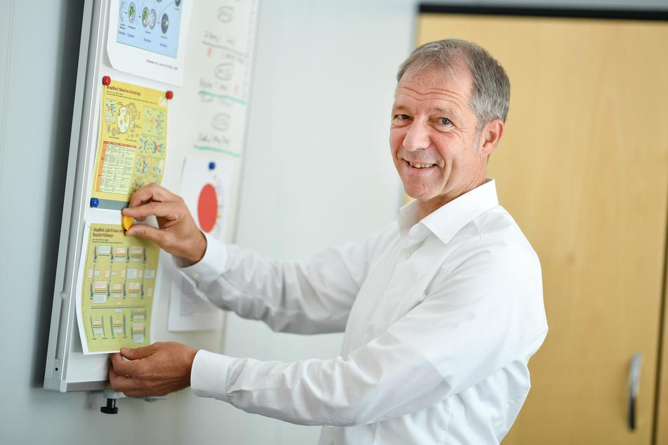 Der Präsident der Gesellschaft für Virologie, Ralf Bartenschlager.