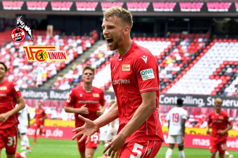 Union Berlin entführt drei Punkte beim 1. FC Köln