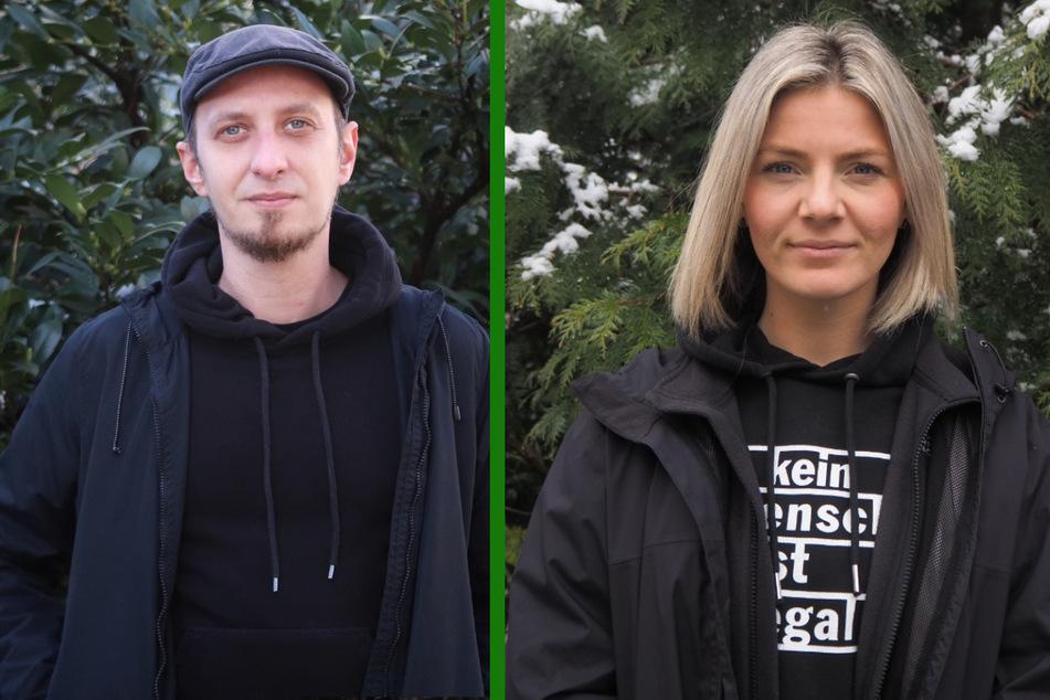 Christian Neubauer (32) und Lisa Steiner (32) setzen sich für die Legalisierung von Hanf ein.