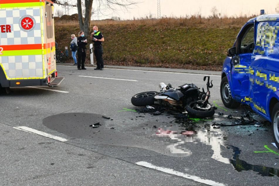 Tödlicher Motorradunfall: 24-jähriger Biker hat keine Chance