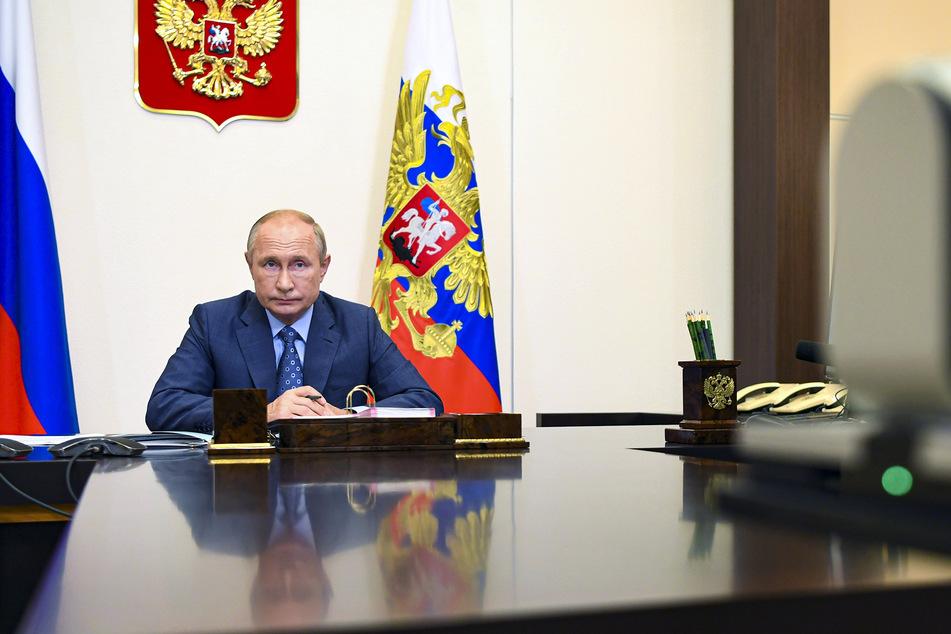 Wladimir Putin, Präsident von Russland, spricht sich gegen einen landesweiten Lockdown aus.