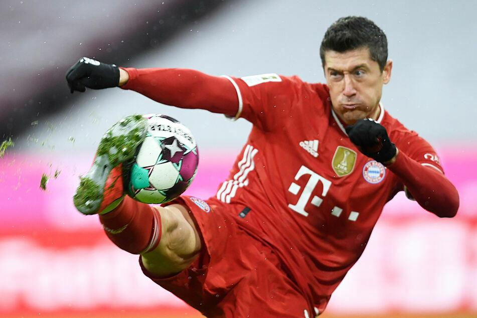 Robert Lewandowski (33) schoss im Oktober 2020 beim 4:3-Sieg über Hertha alle viert Tore für die Bayern.