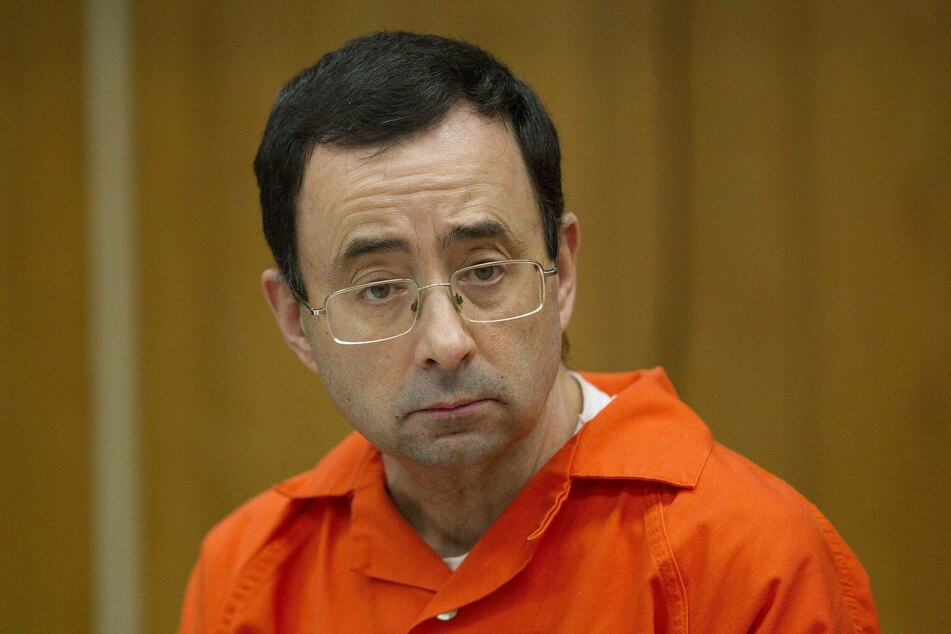 Larry Nassar (57) is serving a life sentence for assaulting numerous girls and women during his time as team doctor for USA Gymnastics.