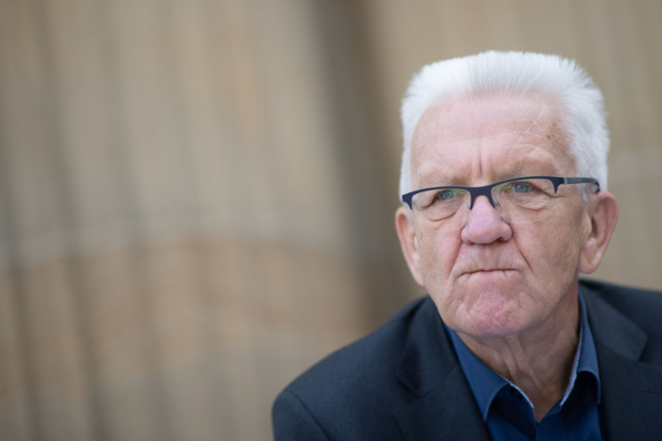 Der baden-württembergischen Ministerpräsidenten Winfried Kretschmann.