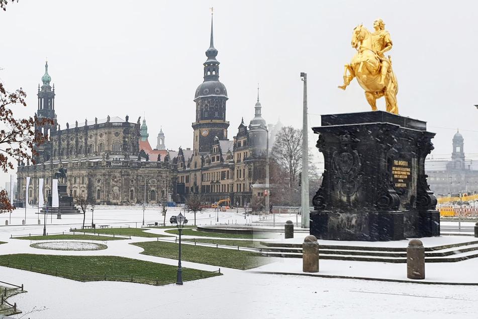Schnee und Minusgrade in Dresden! So wird es in den nächsten Tagen