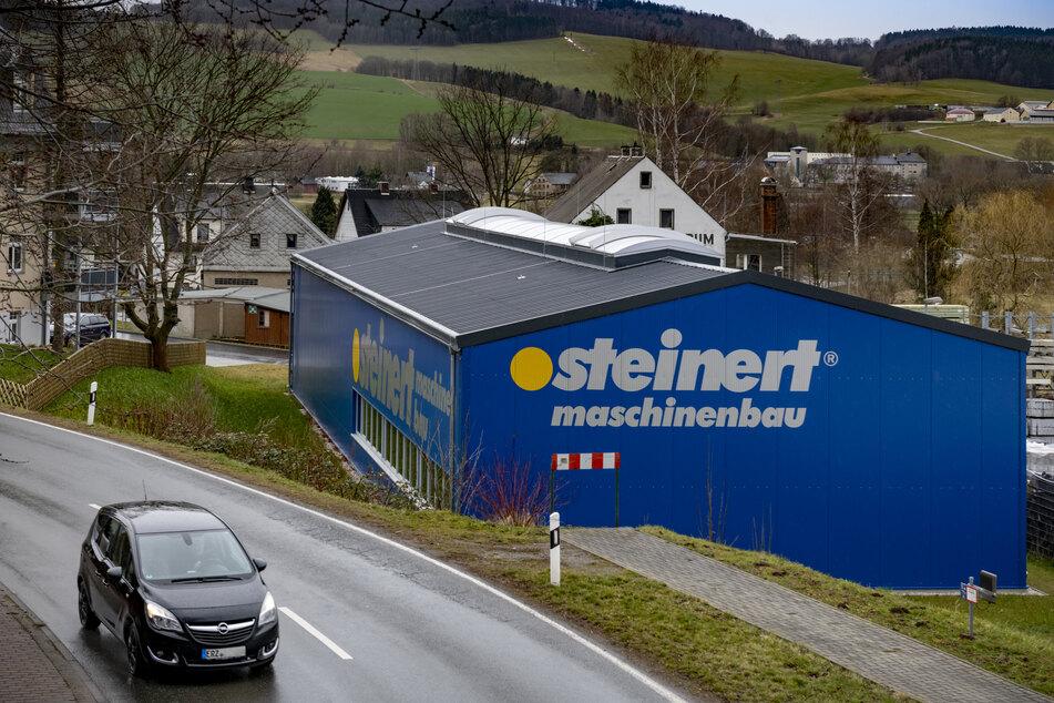 Die Olbernhauer Firma Steinert stieg erst vor zwei Jahren in die Maschinenbau-Branche ein.