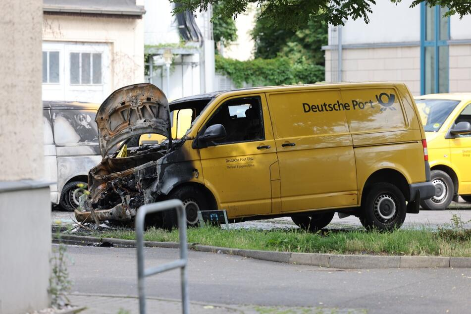 Am Sonntag untersuchten Brandursachenermittler den Tatort.