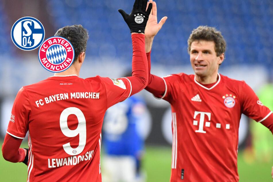 FC Bayern schlägt Schalke klar und baut Tabellenführung weiter aus