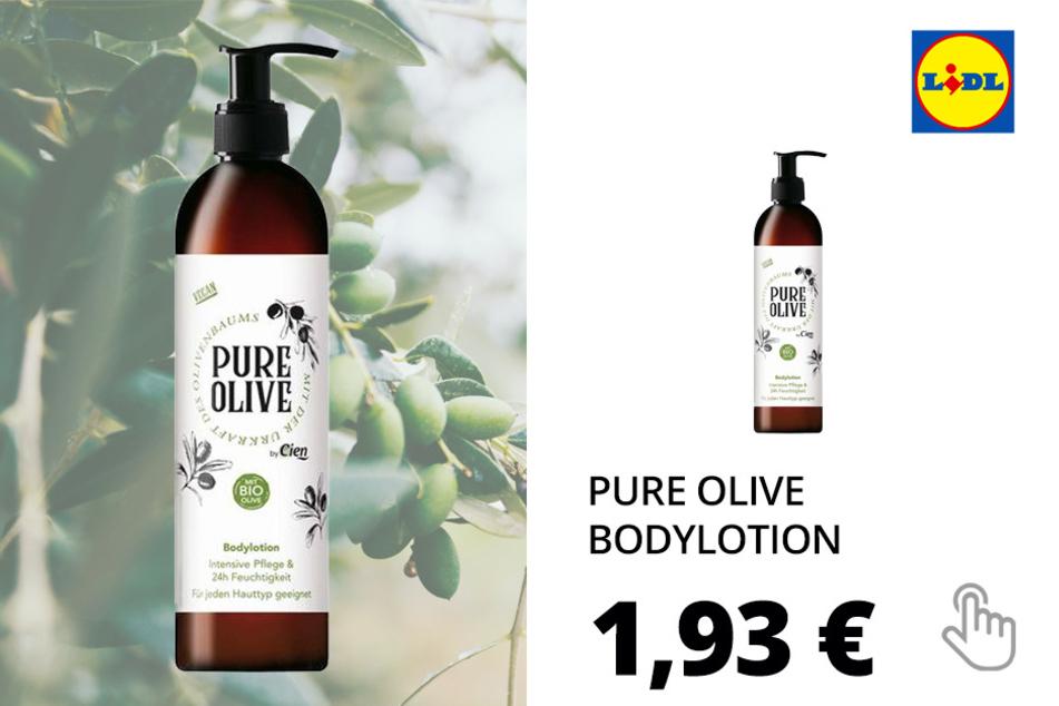 Pure Olive Kosmetikartikel - Bodylotion