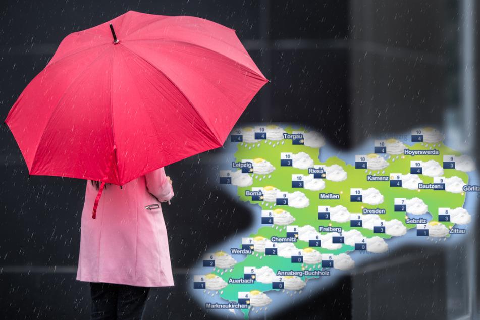 Bleibt der Regen in Sachsen? So wird das Wetter am Wochenende