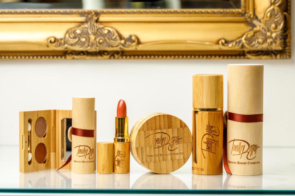 Die Kollektion von Dorothy Roffat ist in Bambus und Holz verpackt.