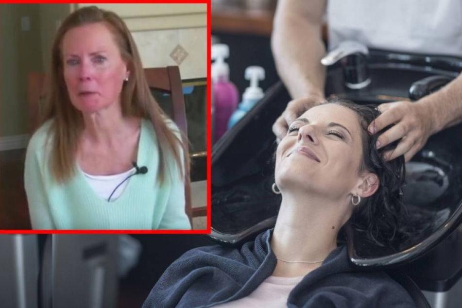 Frau erleidet Schlaganfall durch Friseurbesuch