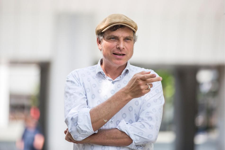 """""""Mein Vertrauen in Herrn Krieger ist begrenzt"""", sagt Grüne-Rat Thomas Löser (49)."""