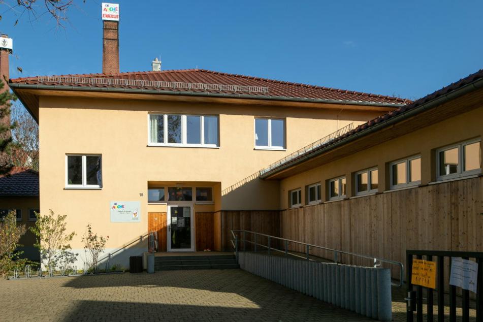 Das Kinder- und Jugendhaus Arche an der August-Bebel-Straße in Meißen.