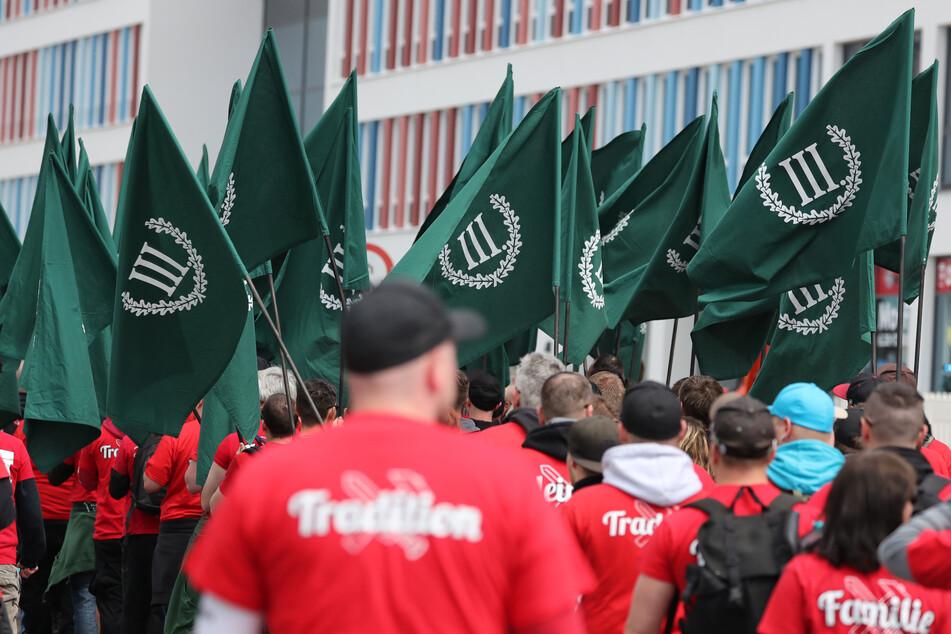 Die Splitterpartei hatte einen Eilantrag beim Verwaltungsgericht Chemnitz gestellt. (Archivbild)