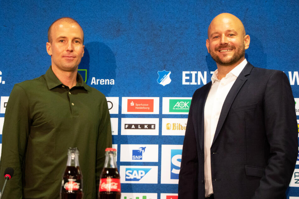 Sebastian Hoeneß (38, l.) genießt weiterhin das Vertrauen von Alexander Rosen (41).