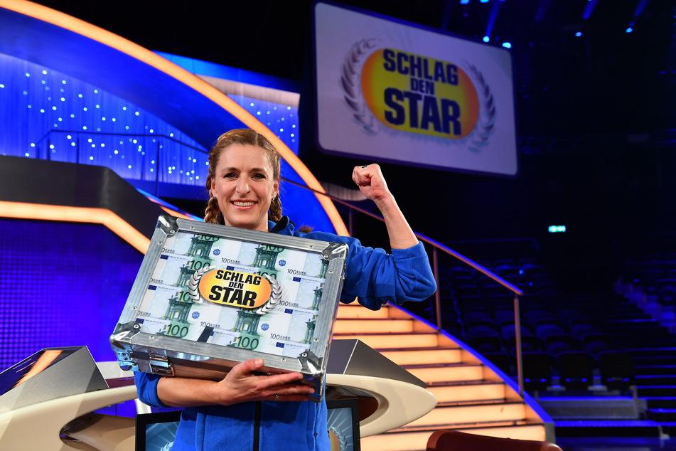 """Schlagersängerin Stefanie Hertel (41) gewann bei """"Schlag den Star""""."""