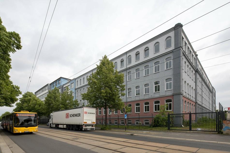 Die Erstaufnahmeeinrichtung für Flüchtlinge in der Hamburger Straße. (Archivbild)