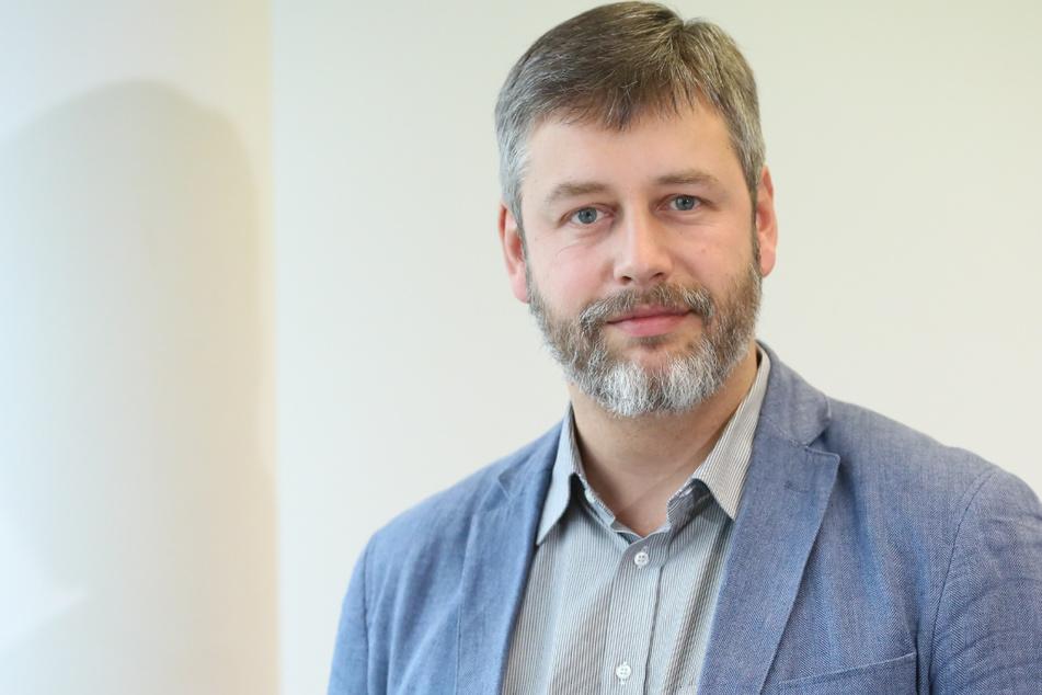 """SPD-Innenexperte Albrecht Pallas (40) fordert einen Verfassungsschutz in Sachsen, """"der nicht mehr den Entwicklungen hinterherläuft""""."""
