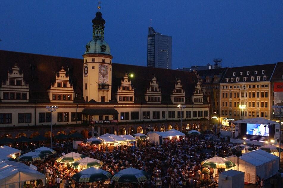 Im August wird Leipzigs Marktplatz wieder zum größten musikalischen Freisitz Sachsens.