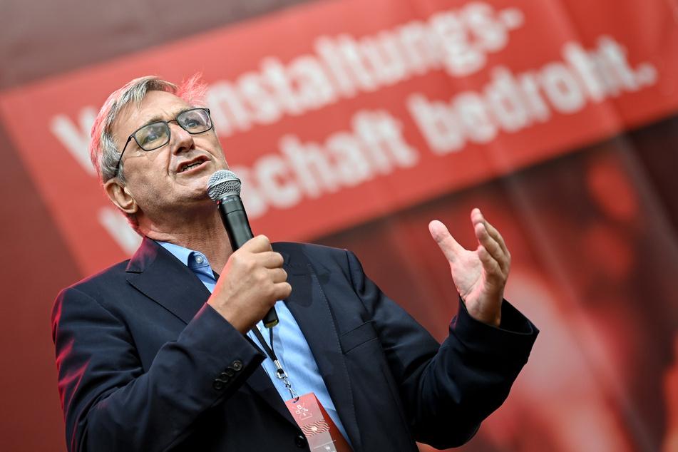 Bernd Riexinger ist Bundesvorsitzender der Partei Die Linke.