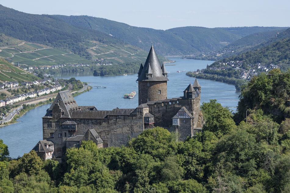 Burg Stahleck: Bilder wie diese sind typisch für Rheinland-Pfalz (Foto: Boris Roessler/dp).