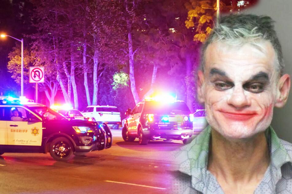 """Typ rennt als """"Joker"""" herum und sagt, er wolle alle töten, doch es soll ein Missverständnis sein"""
