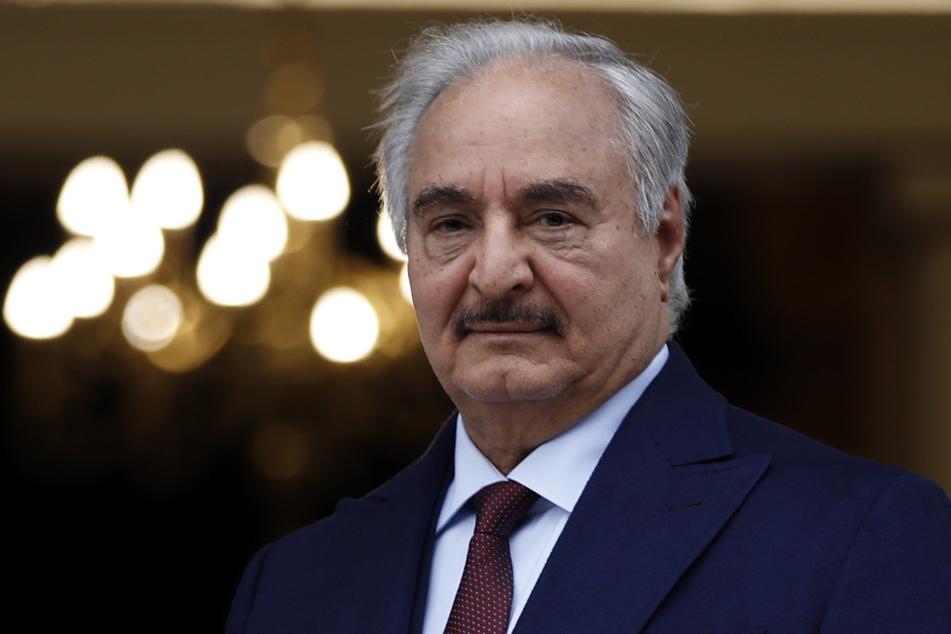 Chalifa Haftar, General in Libyen,
