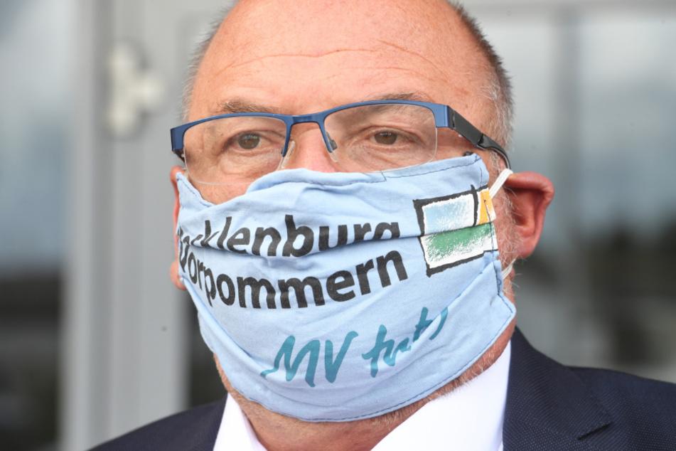 Mecklenburg-Vorpommerns Gesundheitsminister Harry Glawe (66, CDU).