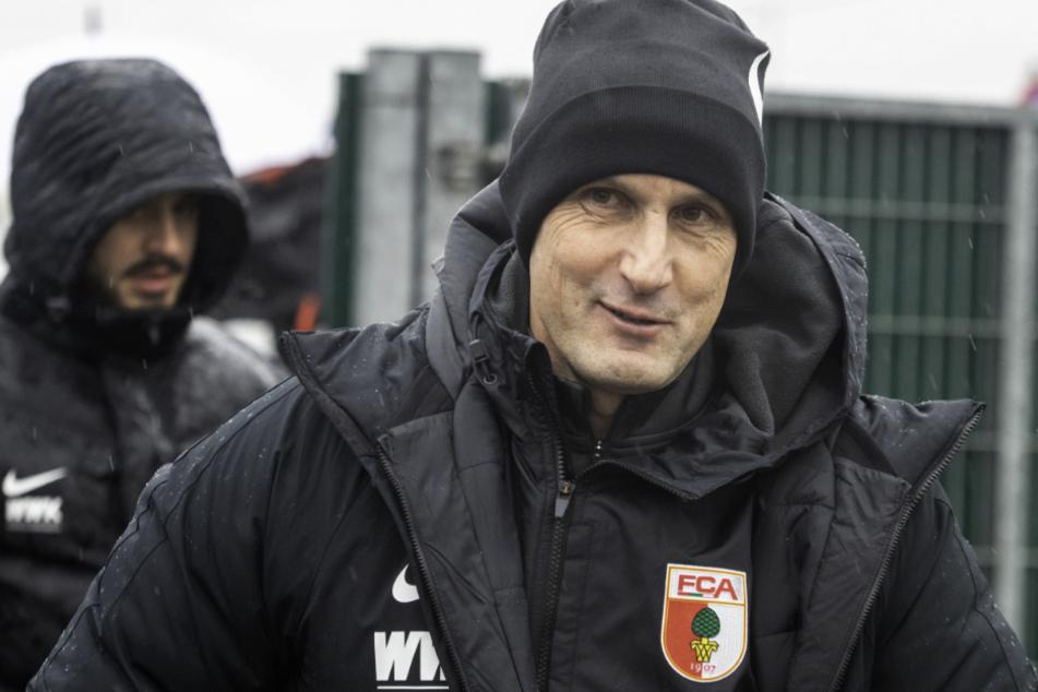 Heiko Herrlich hat den Trainerposten beim FC Augsburg übernommen.