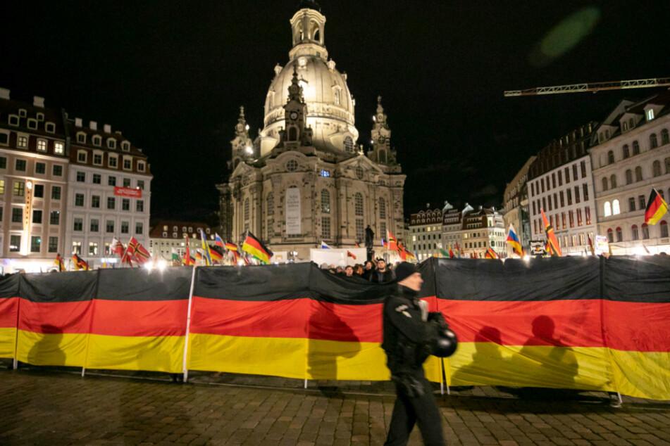 Pegida in Dresden gilt weiter nicht als extremistisch.