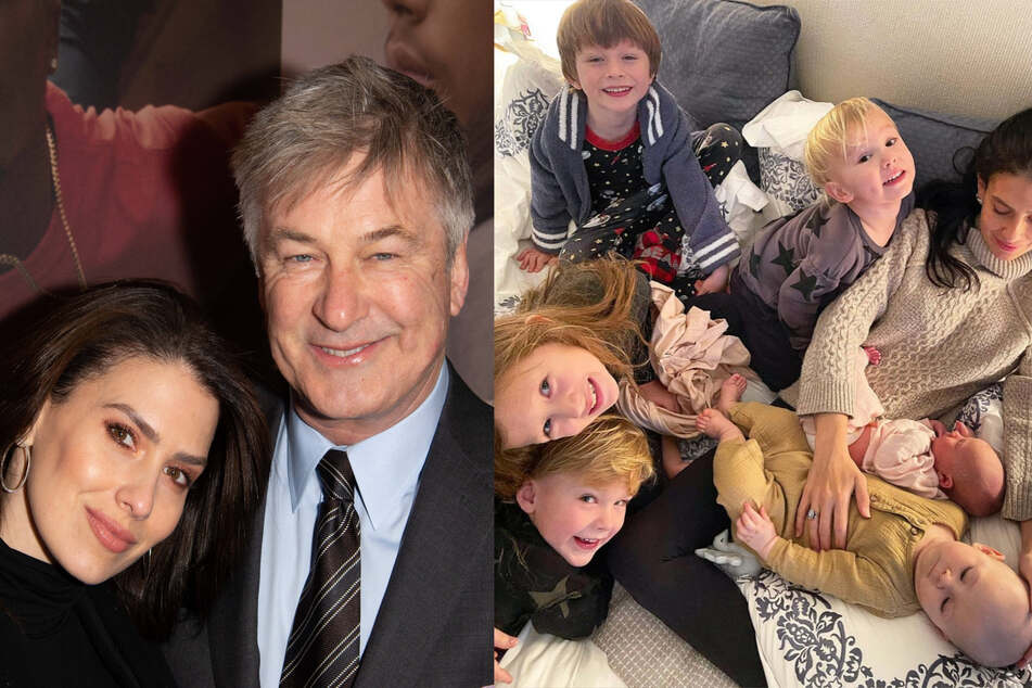 Hilaria and Alec Baldwin are basking in baby bliss with secret sixth child