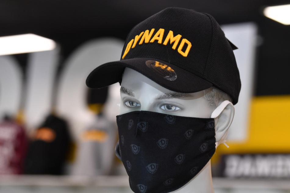 Seit März wurden 25000 Dynamo-Masken verkauft.