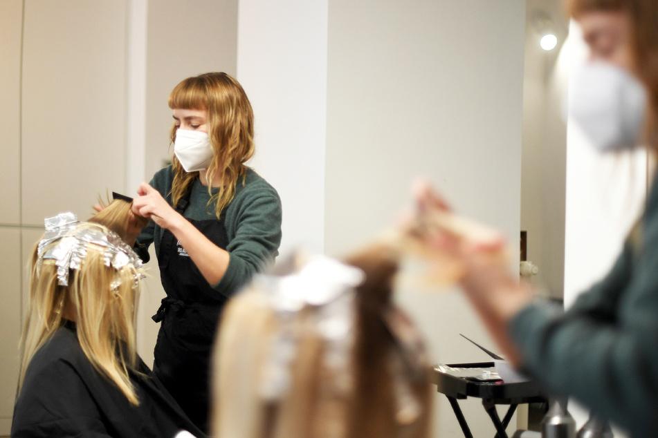 Friseur-Kunden brauchen ab 1. März keinen Corona-Test, aber einen Termin.