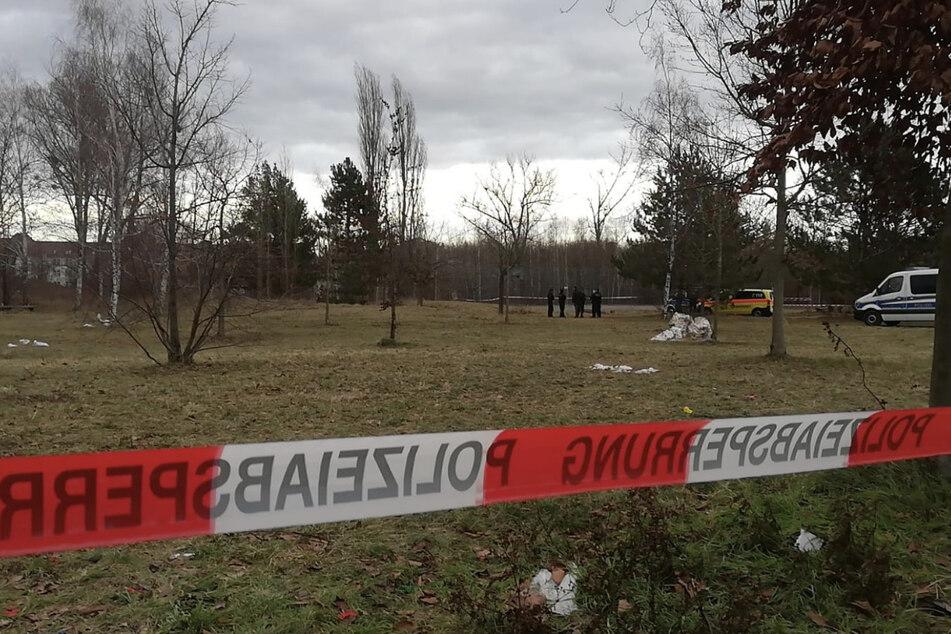 """Auf dem Gelände des """"Teletubbylands"""" wurde der Tote gefunden."""